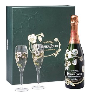 3812d perrierjouet champagne gift set for Super u champagne