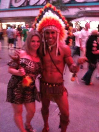 My lofty goals for 37 – and a half-naked Indian.