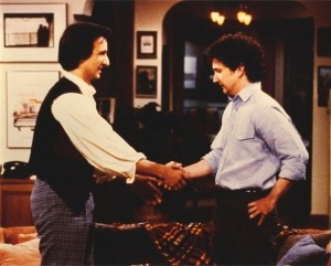 They started out as perfect strangers which turned into eight seasons of television brilliance. I miss the '80s.