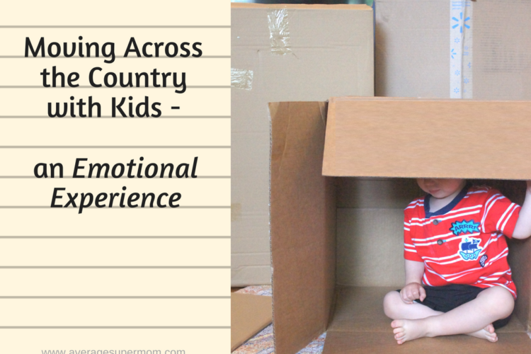Moving Across the Country With Kids – An Emotional Experience
