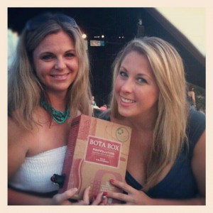 My bestie, Aimee - We bonded over boxed wine. And Twitter.